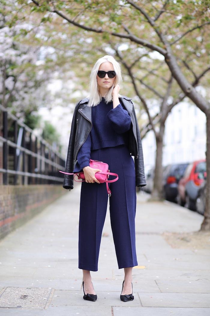 Тренд: модные брюки-кюлоты - фото №14