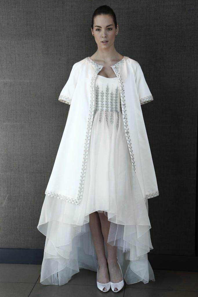 Неделя свадебной моды в Нью-Йорке весна 2015: лучшие платья - фото №17