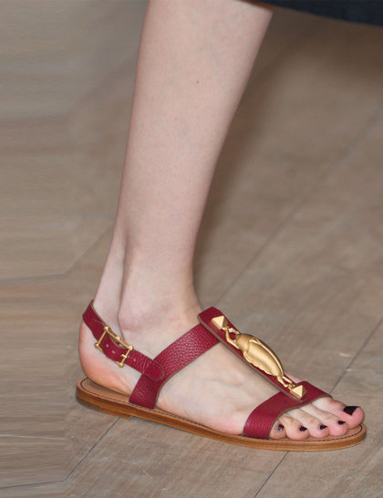 Модная обувь сезона весна-лето 2014: босоножки - фото №4