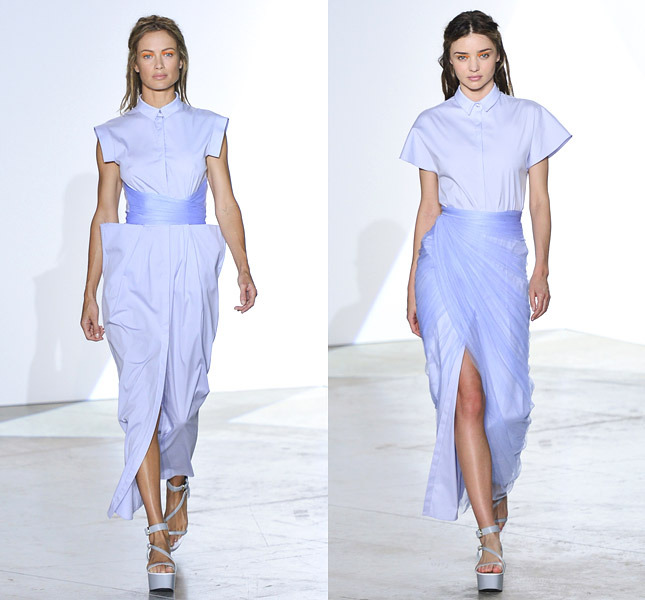 Тренд: платье-рубашка - фото №4