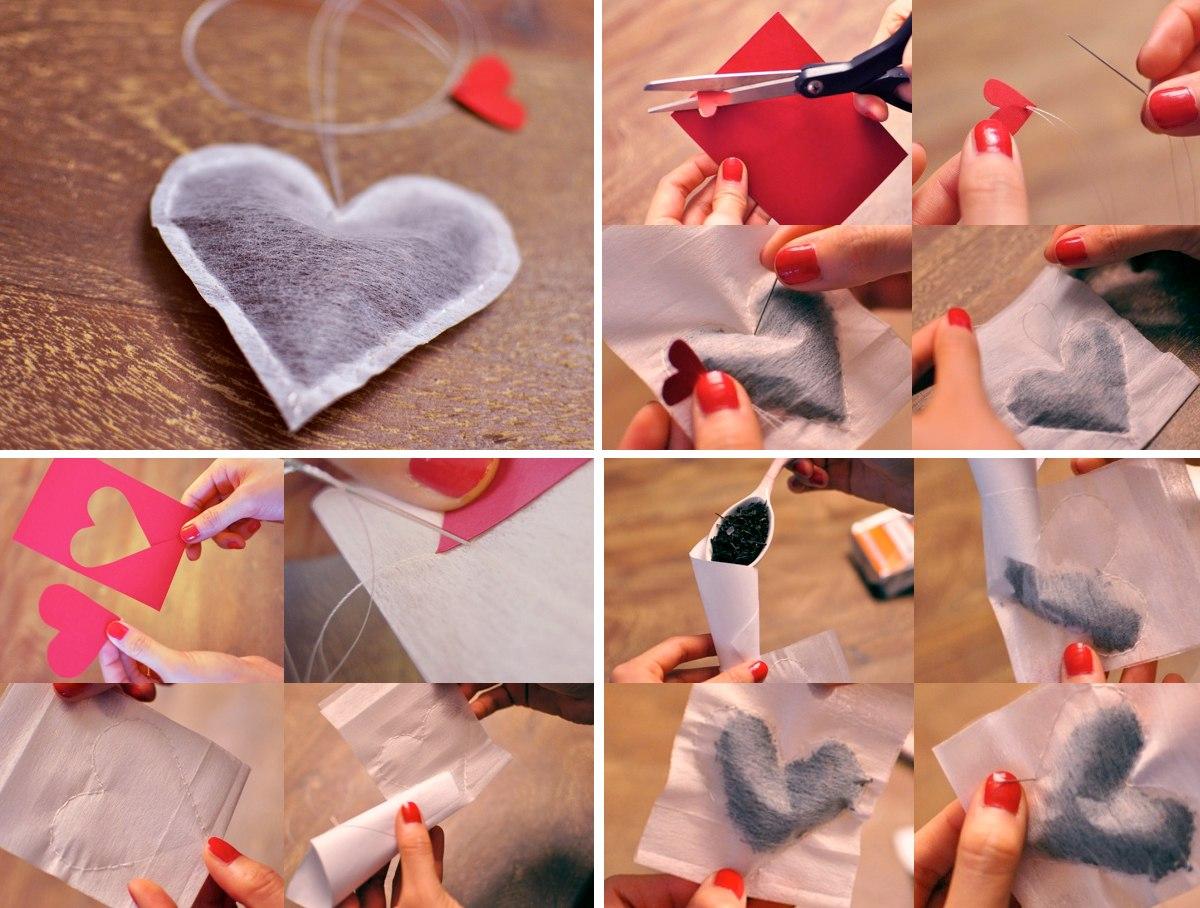 Как сделать валентинку своими руками - фото №2