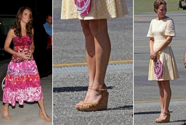 Почему королева запретила Кейт Миддлтон обувь на танкетке