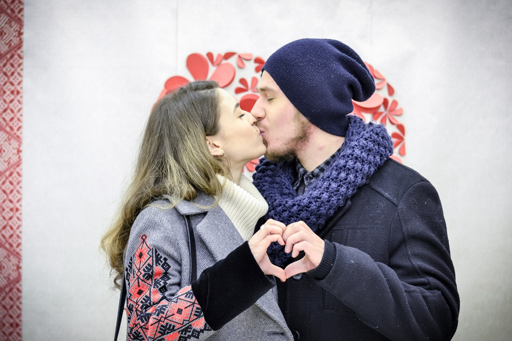 «Всі. Свої» день влюбленных