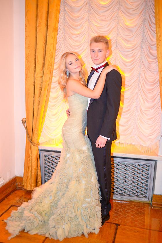 Лиза Пескова с женихом