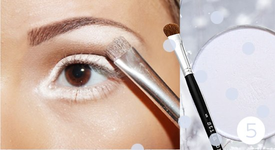 Как сделать снежный макияж глаз: пошаговый фото-урок - фото №6