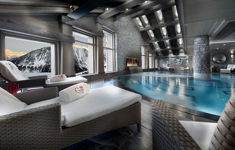 Лучшие отели мира: Hotel Le K2, Куршевель, Франция - фото №7