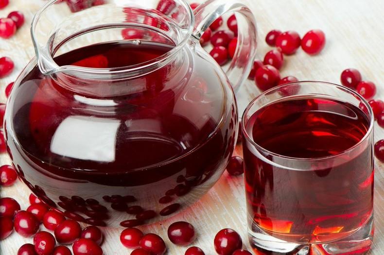 клюквенный сок польза