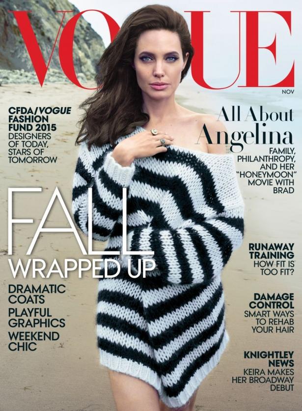 Анджелина Джоли с Брэдом Питтом и детьми снялись в волшебной фотосессии для Vogue - фото №3