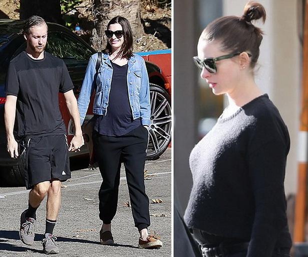 Энн Хэтэуэй беременна 2015