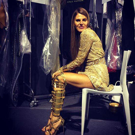 """Представлена """"золотая"""" коллекция платьев для Элизабет Тэйлор - фото №1"""