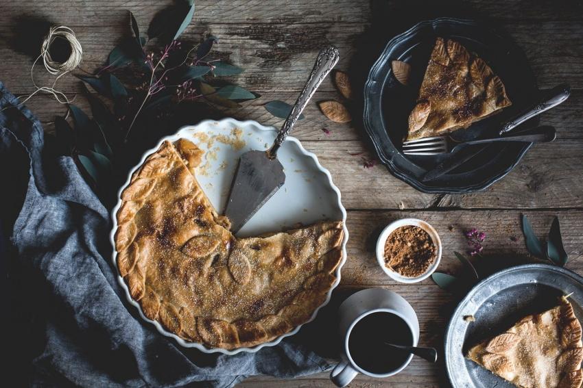 капустный пирог полезная выпечка