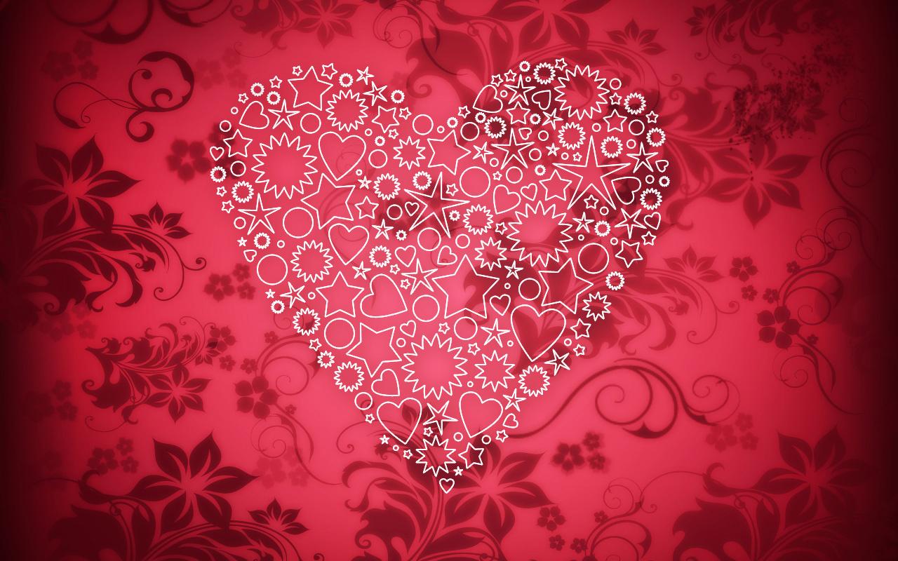 Тебя все, открытка с сердцем любимому