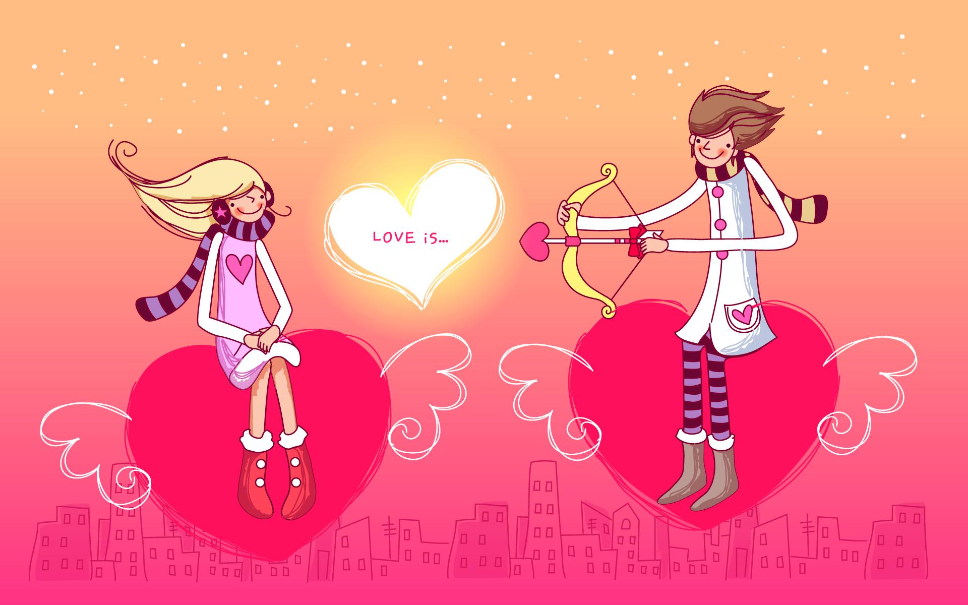 Открытки 14 февраля день святого валентина прикольные, любви