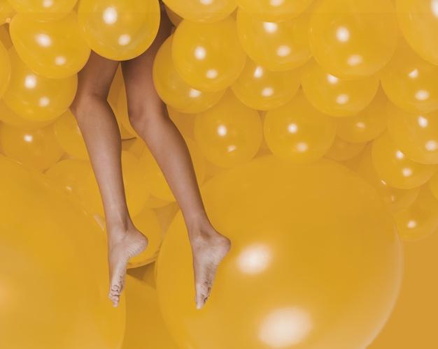 Ноги на носочках секси