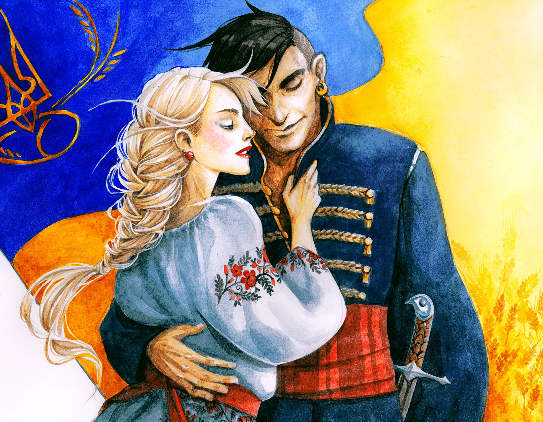 Главный бой еще впереди: Нацкорпус поздравил украинцев с Новым годом - Цензор.НЕТ 8740