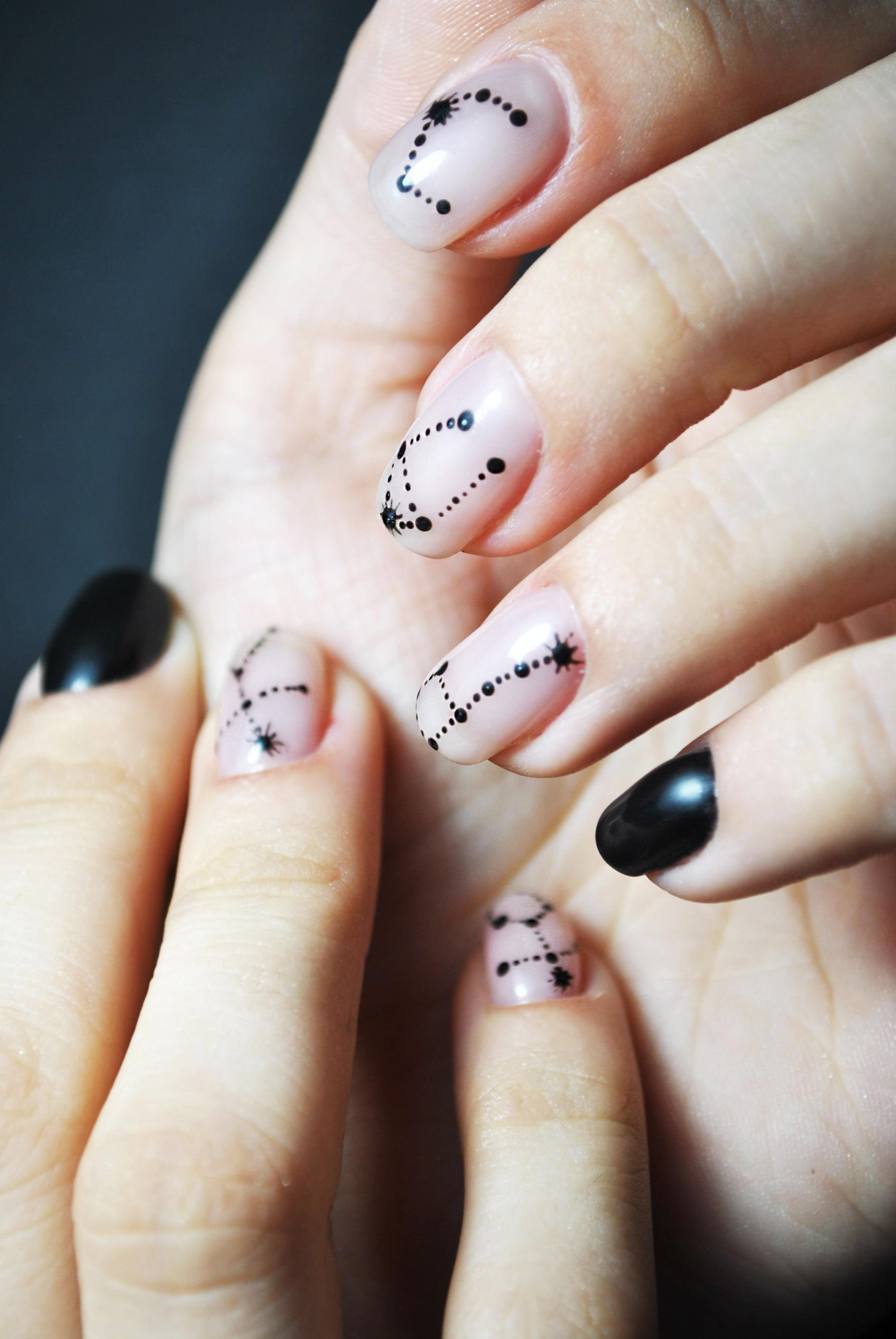 Рисунки на ногтях секс
