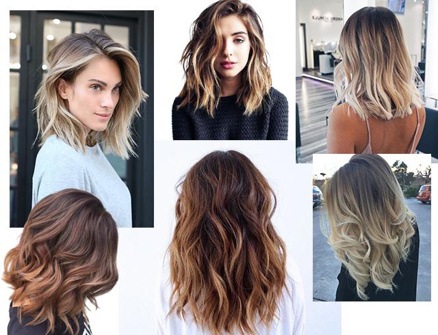 Модное окрашивание волос Шатуш шикарные образы на лето