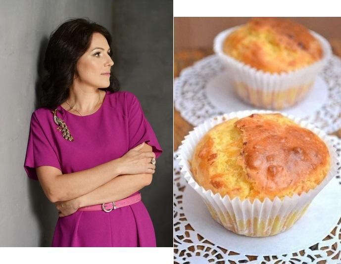 Телеведущая Татьяна Высоцкая поделилась рецептом сырных розеток