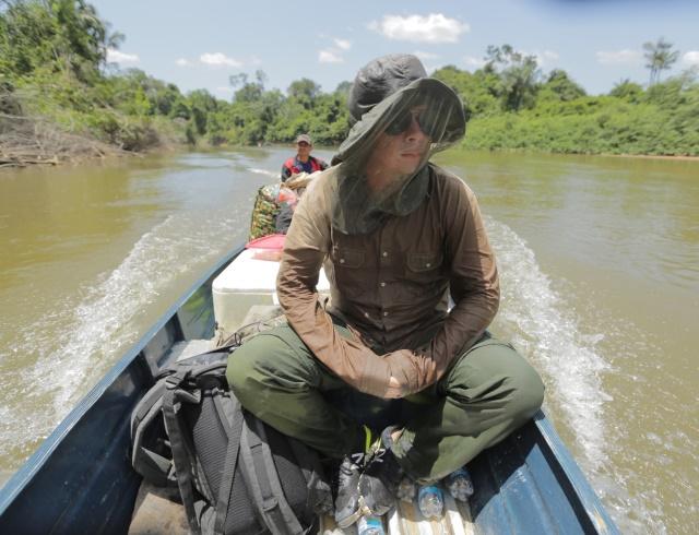 4 дня на водах Амазонии: Дмитрий Комаров стал первым в мире журналисто