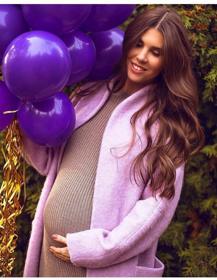 Анна Реброва беременна