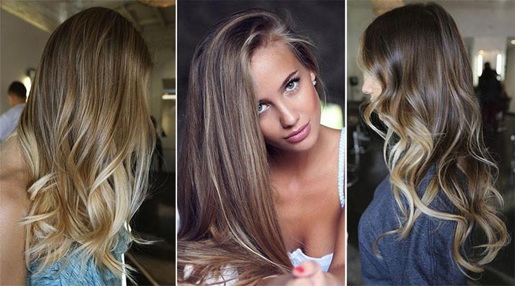 Как создать эффект  бликов на волосах: солнечные техники окрашивания - фото №3