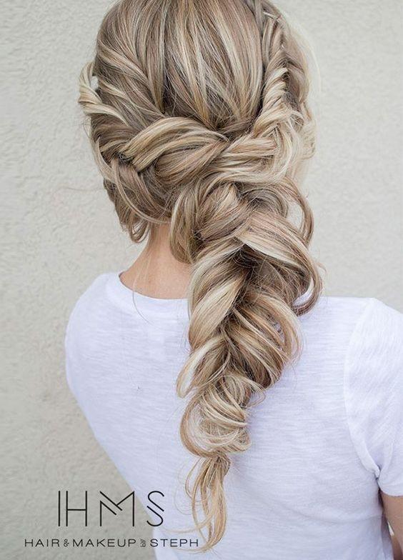 Самые красивые прически на выпускной вечер: фото простых причесок для волос любой длины - фото №36