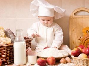 Развивающие игры для детей на кухне - фото №1