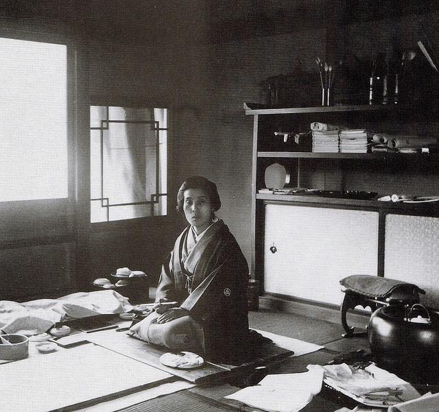 Уэмура Сеэн: Google посвятил дудл японской художнице - фото №1