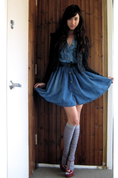 Топ 20 модных весенних платьев из денима - фото №5