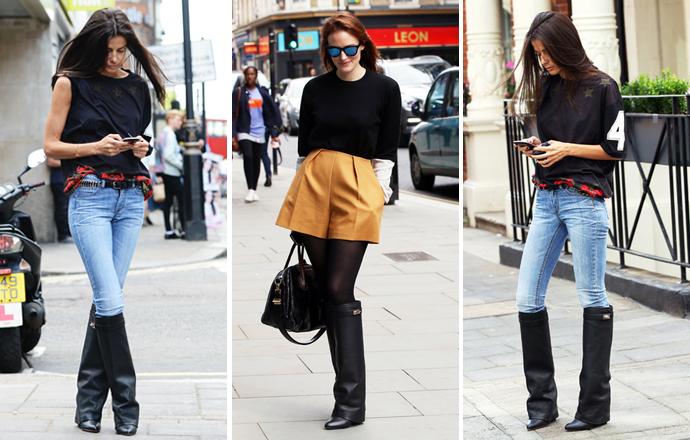Уличный стиль на Неделе моды в Лондоне - фото №1
