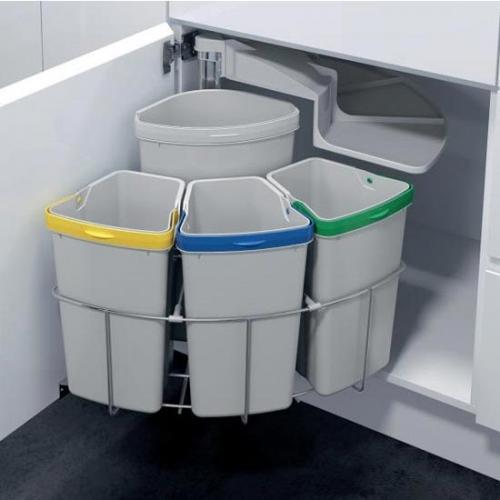 сортировка мусора дома фото