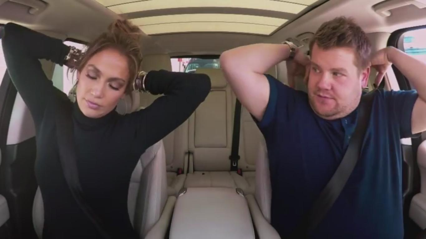Дженнифер Лопес в «Автомобильном караоке» призналась, что ей 5 раз предлагали выйти замуж - фото №1