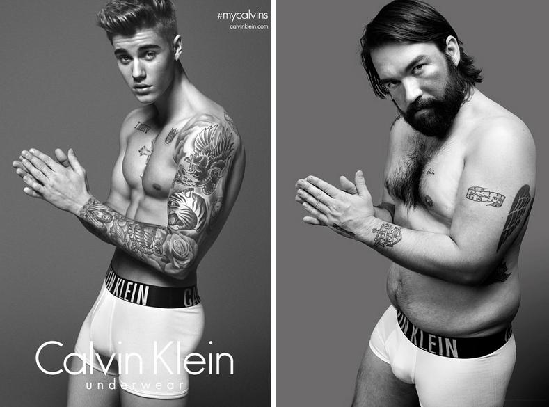 Обычные мужчины & модели: как выглядит реклама нижнего белья в реальной жизни - фото №1
