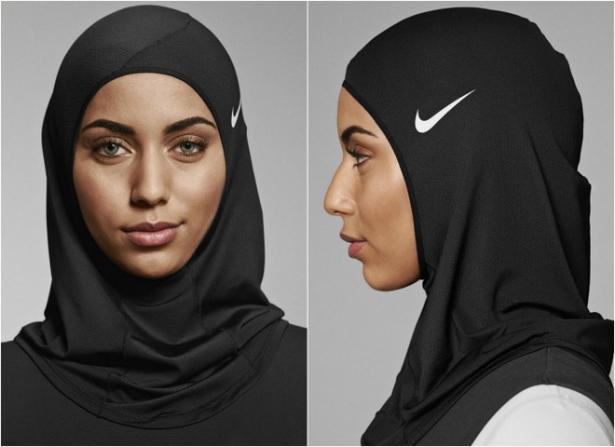 спортивный хиджаб найк