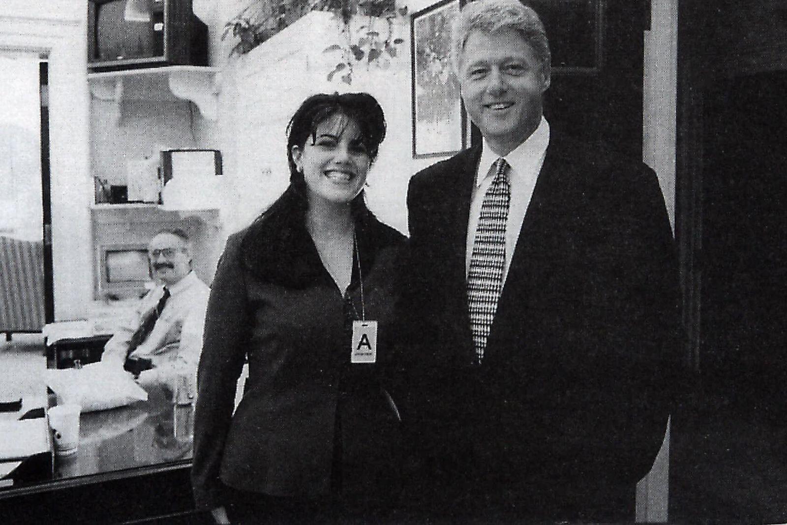 Моника левински билл клинтон