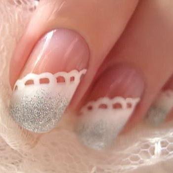 Модный свадебный маникюр-2011 - фото №1