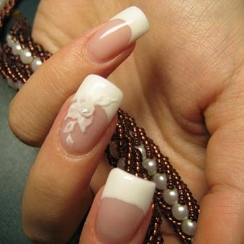 Модный свадебный маникюр-2011 - фото №4