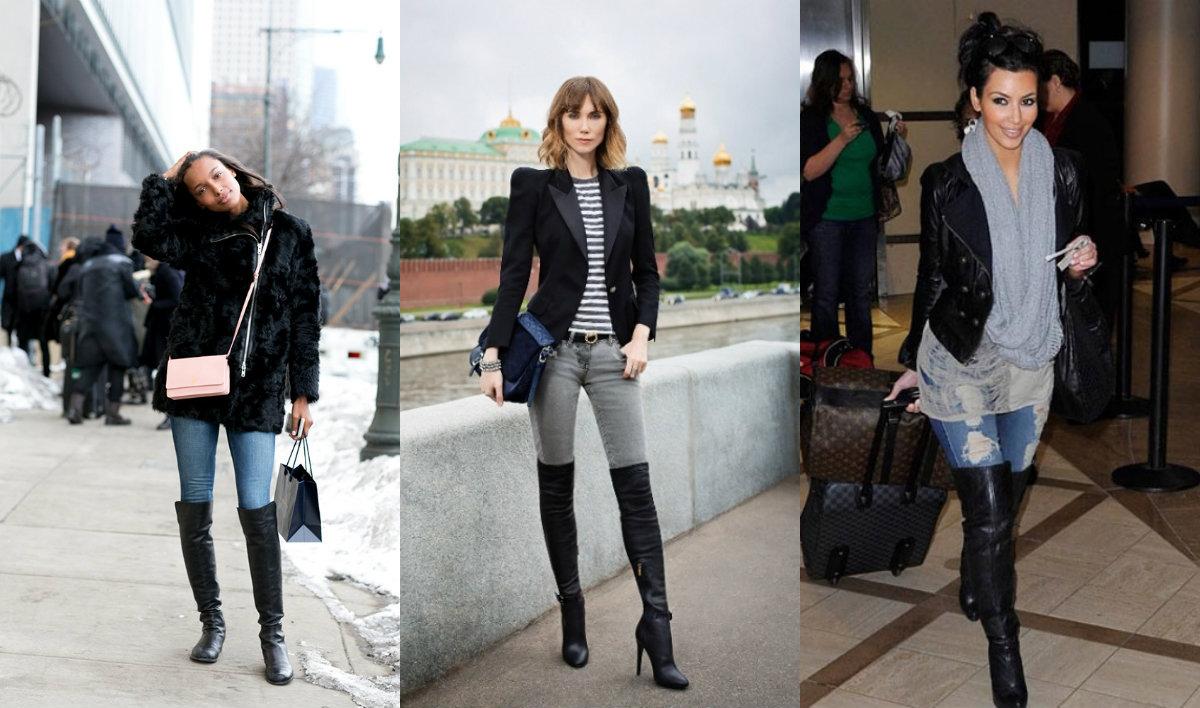 Fashion-гид: как носить джинсы с сапогами