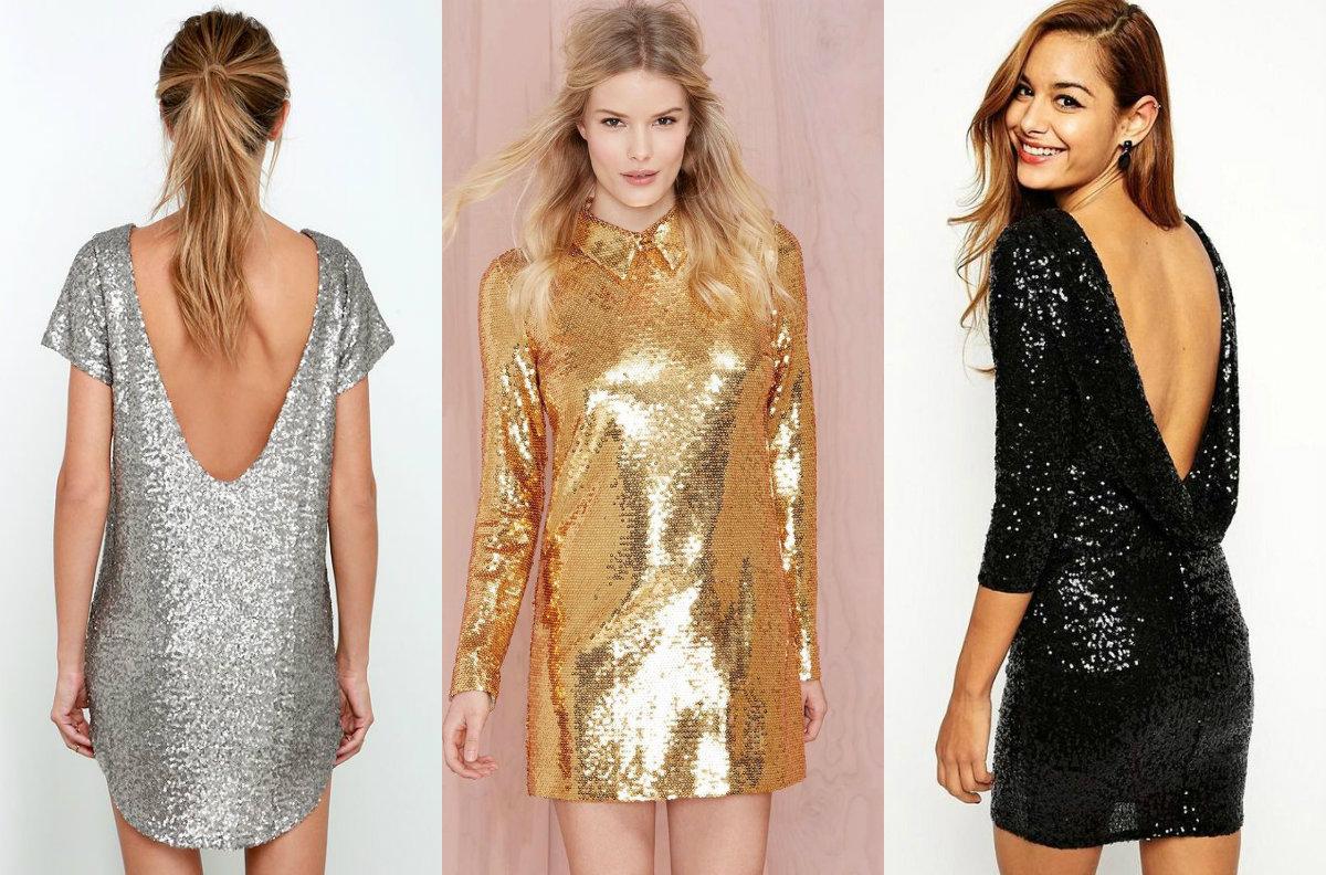 Fashion-гид: с чем носить платье в пайетках