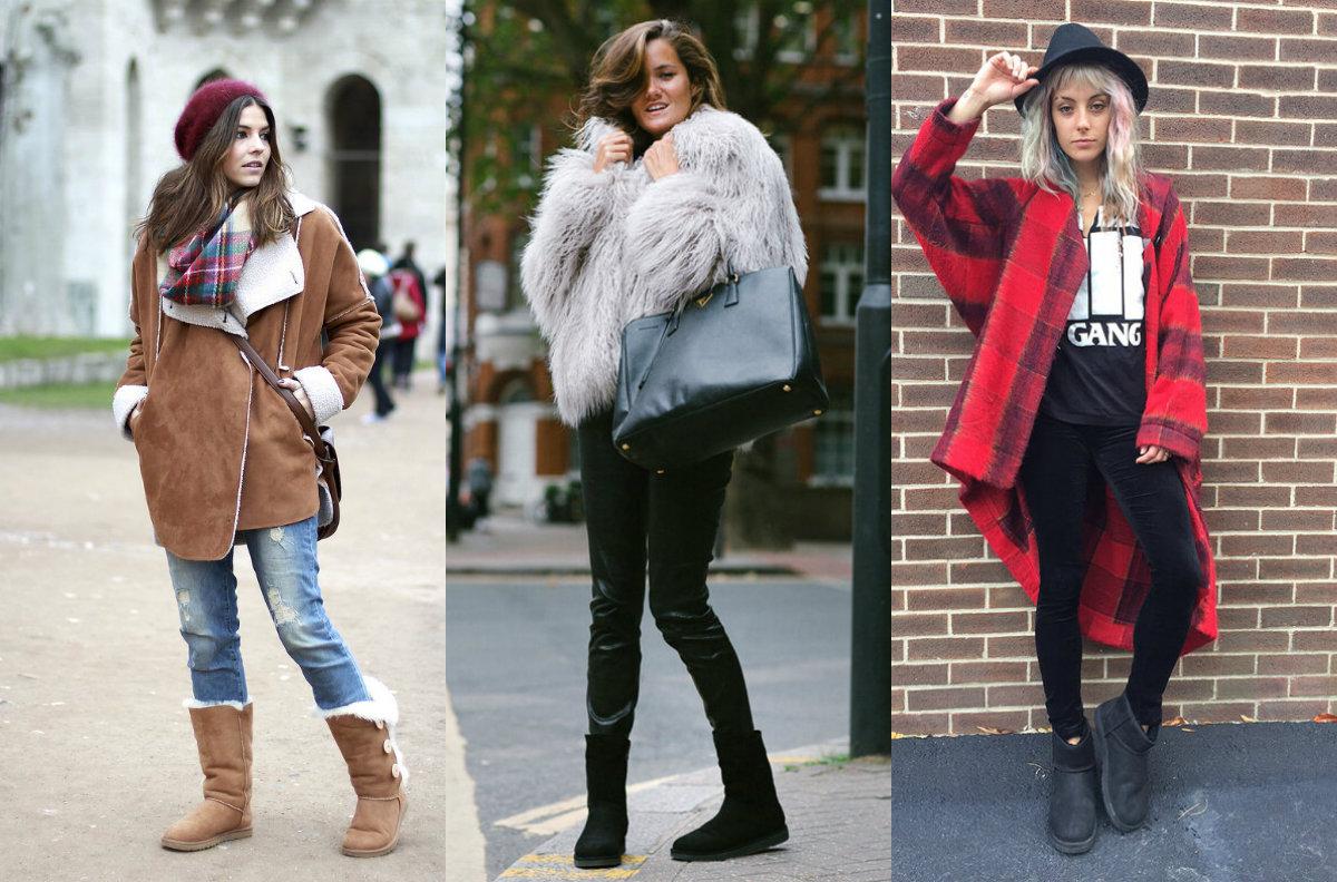 Зима, холода: как носить Ugg и не выглядеть пошло
