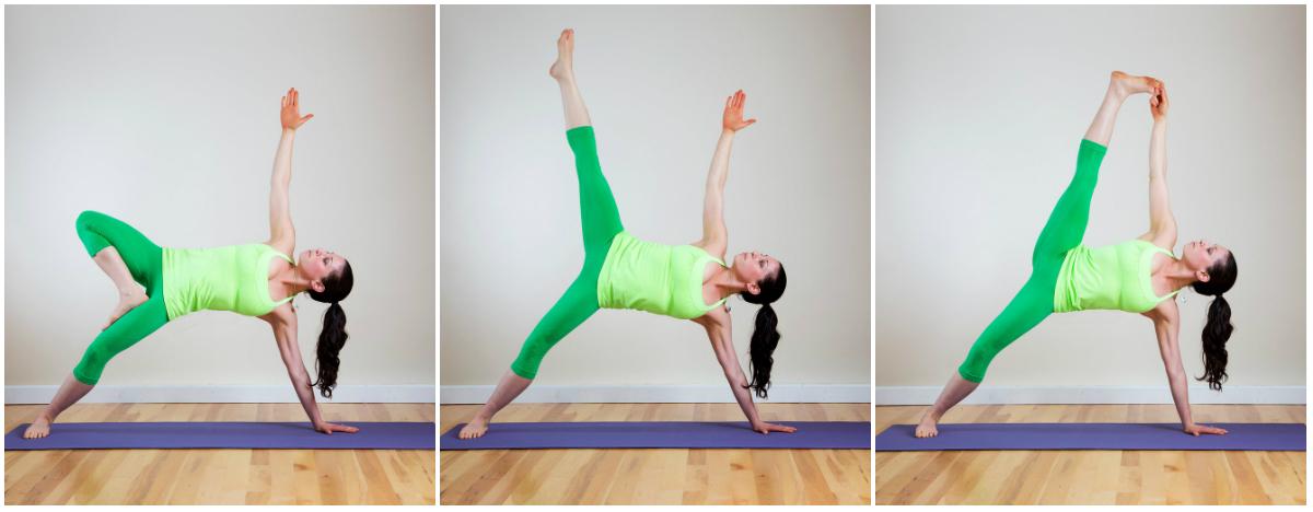 Как сделать пресс на йоге