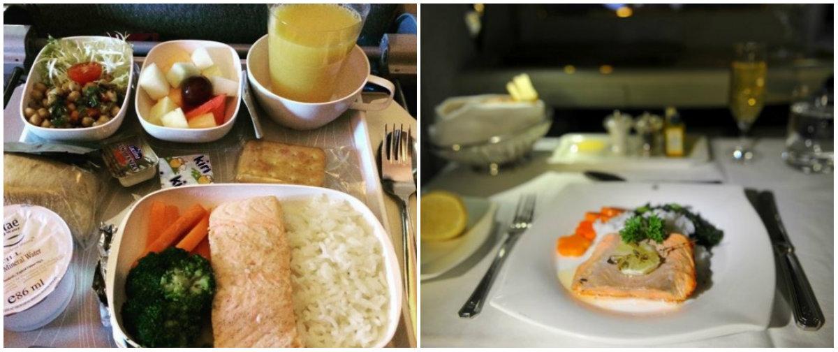 Еда в самолетах авиакомпаний разных стран: отличия эконом-класса от бизнес-класса - фото №2