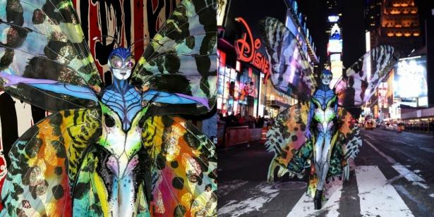 Неповторимая Хайди Клум: потрясающие костюмы супермодели на Хэллоуин - фото №14