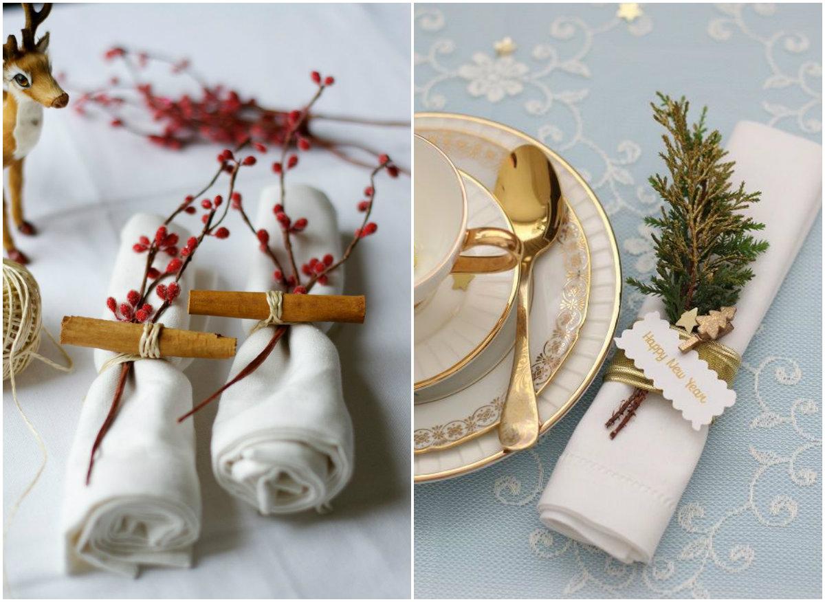 Как украсить стол к Новому году: идеи декора из натуральных материалов - фото №3
