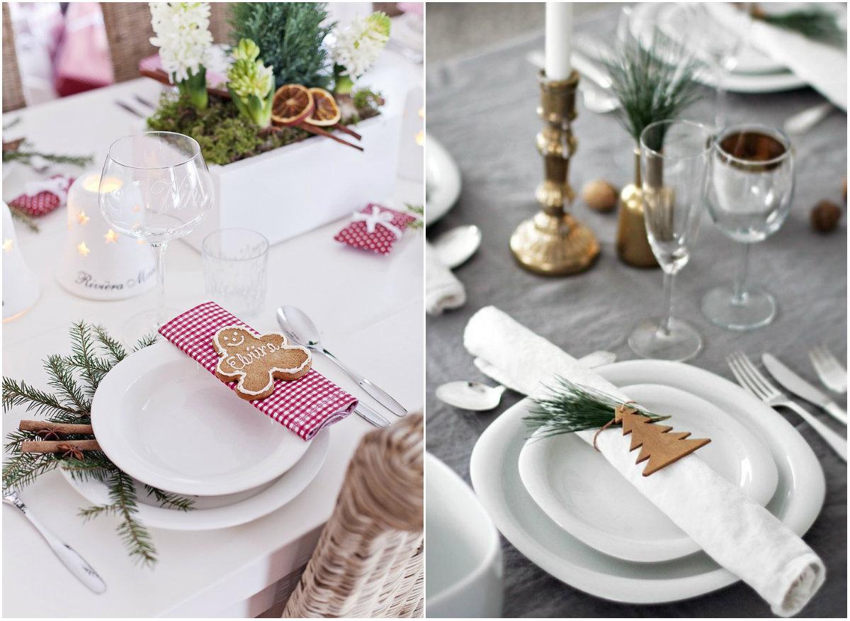 Как украсить стол к Новому году: идеи декора из натуральных материалов - фото №4