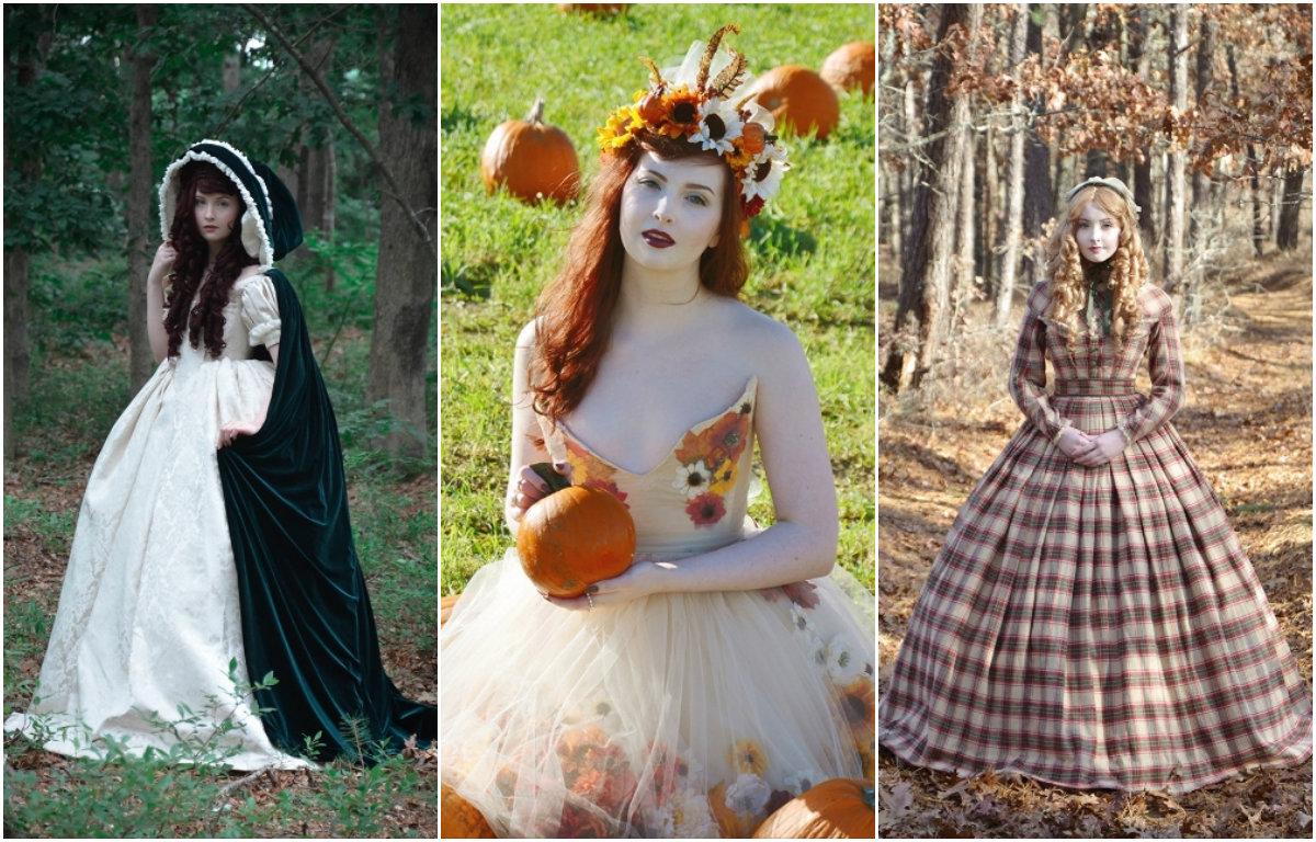Как в сказке: юная девушка создает потрясающие исторические костюмы - фото №3
