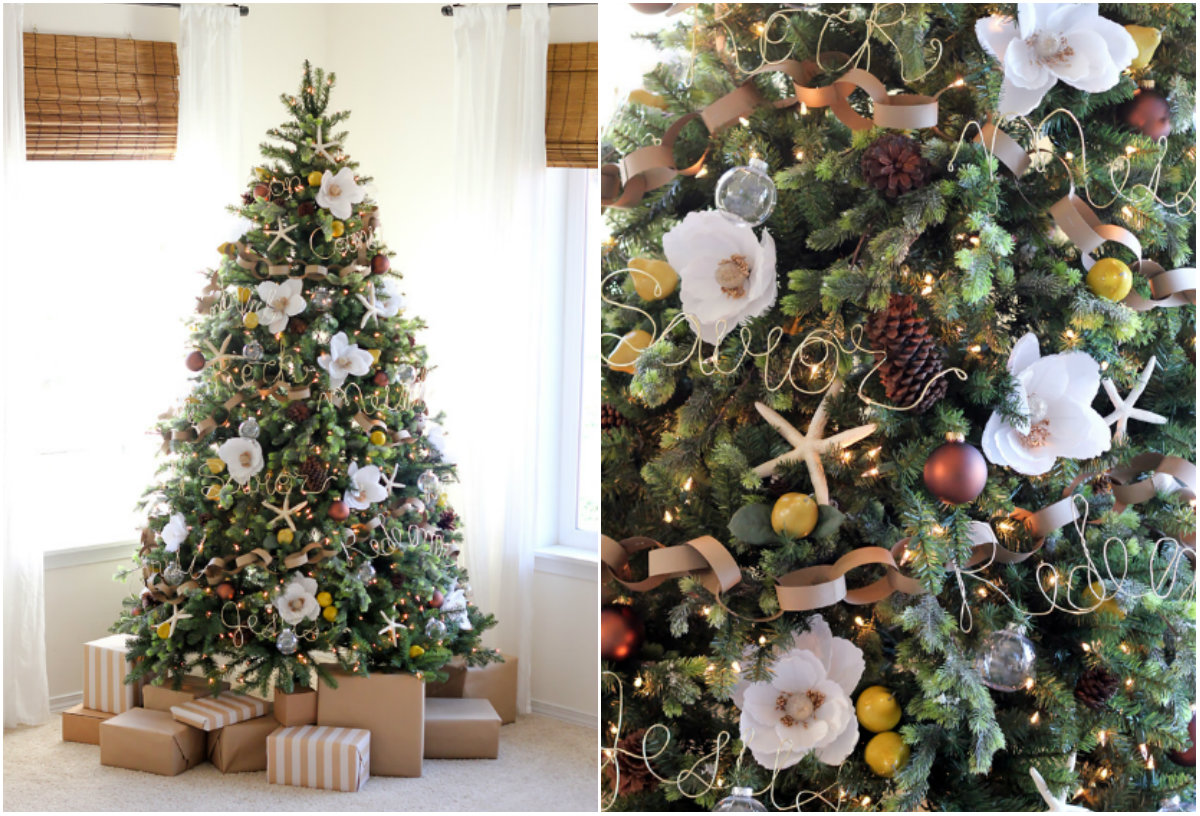 как украсить елку на Новый год