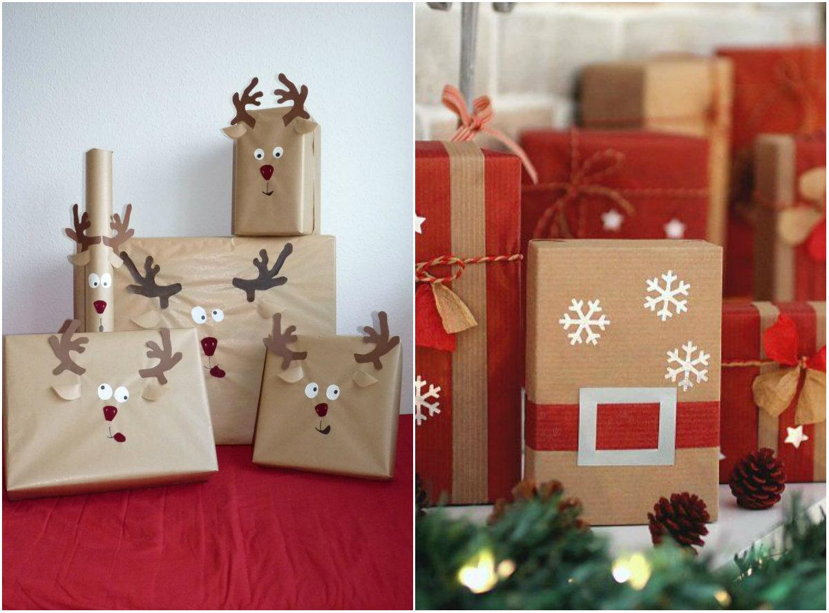 упаковки для новогодних подарков 2016