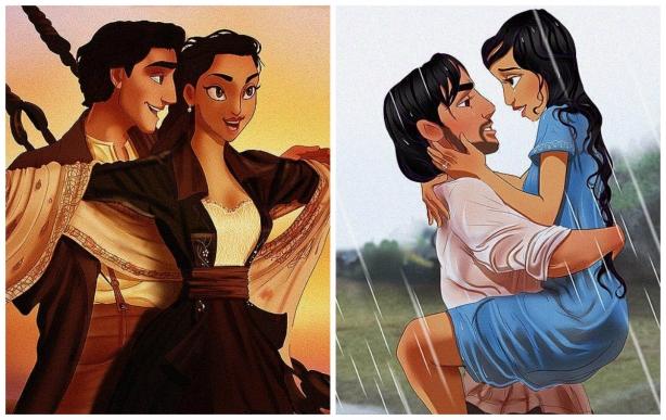 Как диснеевские принцессы на самом деле выглядят утром: если бы хэштег #IWokeUpLikeThis был правдивым - фото №3