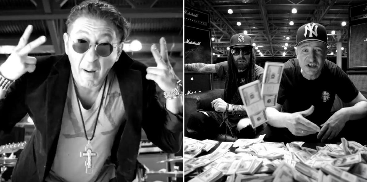 Неожиданный союз: Григорий Лепс и Green Grey выпустили клип на песню о деньгах - фото №1